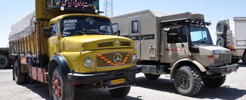 Rundhauber im Iran
