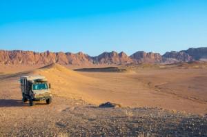 Kavir Wüste im Iran