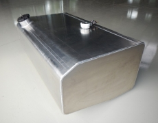 Unimog Aluminium Tank