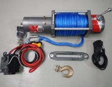 8t – 12V/24V Seilwinde mit Kunststoffseil